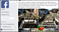 Zone 9 Gardening Facebook Group